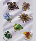Contest, bead work, beaded rings, bead design contest, design contest rezults
