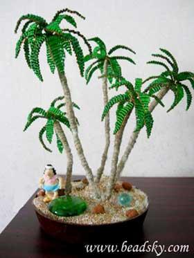 Наиболее впечатлившие работы с инета.  1.пальмы.