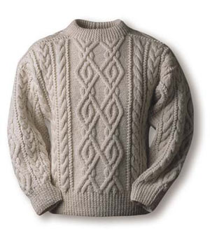 Аранское вязание(ирландское вязание, кельтское вязание).  Аранские свитера и аранская техника вязания берут своё...