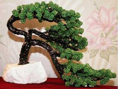 """На нашем женском сайте  """"Дамочка """" Вы в любой момент можете найти публикацию - деревья и цветы из бисера схемы..."""