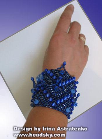 бисероплетение браслеты из бисера схема.